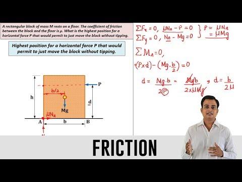 Friction | Problem 2