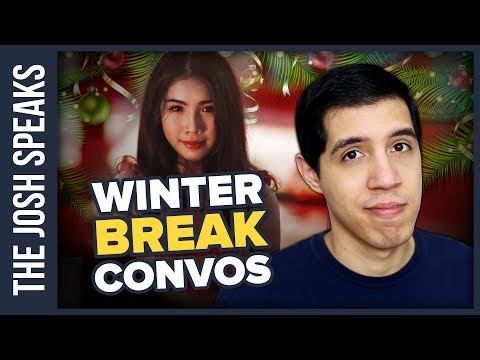 How To Talk to Your Crush During Winter Break
