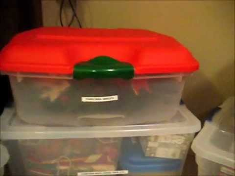 How To Organize & Store Christmas Items