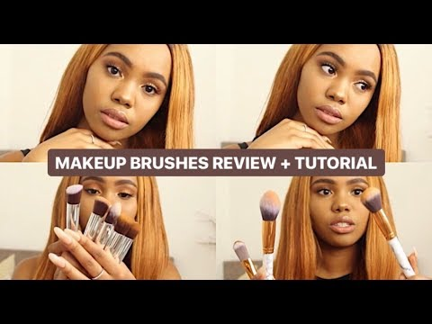 @gearbest.com Makeup Brushes Review + Tutorial | South African YouTuber