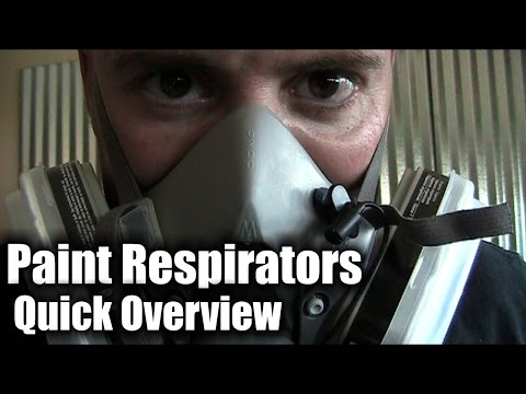 Paint Respirators - a quick overview of paint masks and respirators