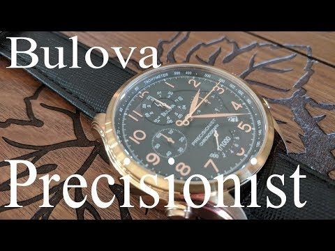 Big Bold and Beautiful; The Bulova 97B122 Precisionist  Review