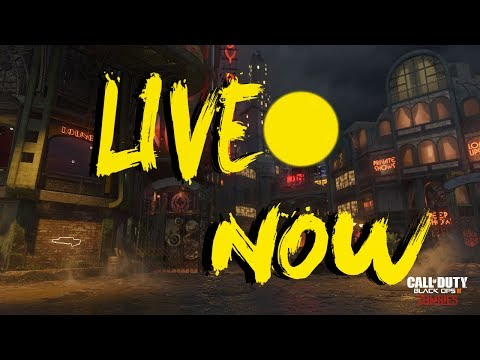 Bo3 Zombies Live Stream----GOAL 400 SUBS