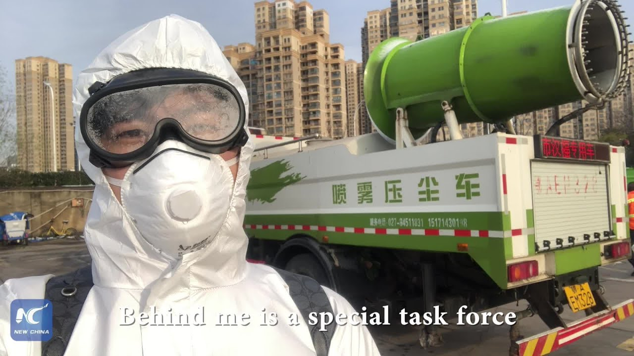 Wuhan Today: Disinfecting epicenter city