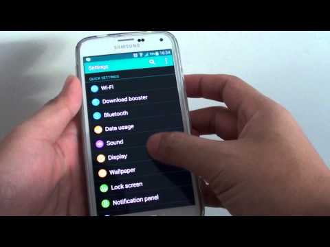 Samsung Galaxy S5: How to Set Home Key to Access Main Accessibility Features
