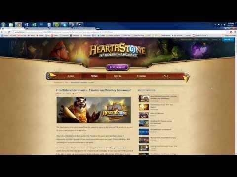 Beta Keys For Hearthstone! - Grindexp.com