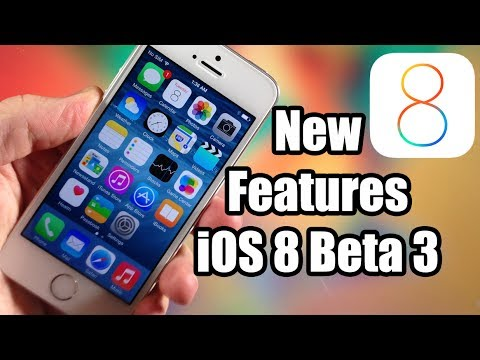 iOS 8 Beta 3 Update & New Features