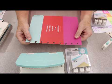 Crankin' Out Crafts - ep531 We R Memory Keepers Planner Punch Board