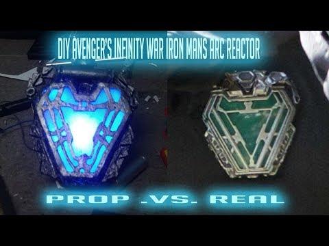 DIY Avenger's Infinity war iron man arc-reactor