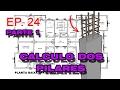 EP. 24 -CÁLCULO DOS PILARES - PARTE 1 - PILAR INTERMEDIÁRIO