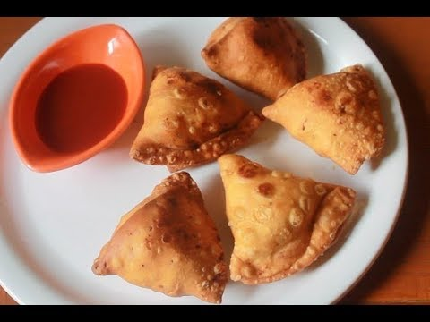 Punjabi Samosa Recipe - Potato Samosa Recipe - Aloo Samosa Recip