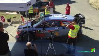 Rallye Tour de Corse 2018 WRC - départ ES4 Piedigriggio vendredi 6 avril à 16h31