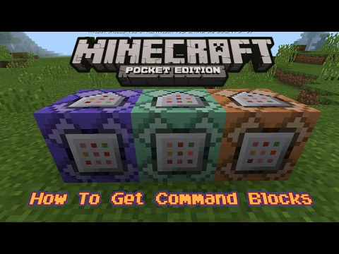How To Get Command Blocks In Minecraft PE 1.0.5 Beta