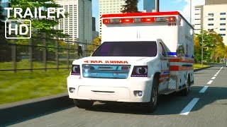Florence the Ambulance and Ross the Race Car - Trailer -  Real City Heroes (RCH) Videos for Children