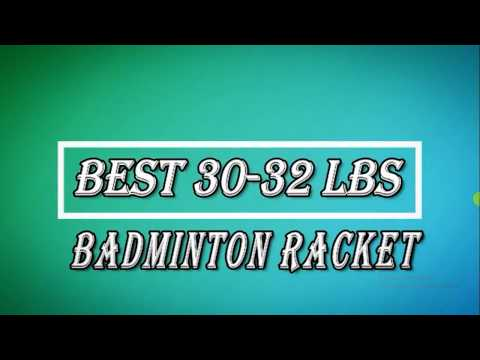 Best badminton rackets of 30 to 35 lbs string tension under 2500 by the shuttler s