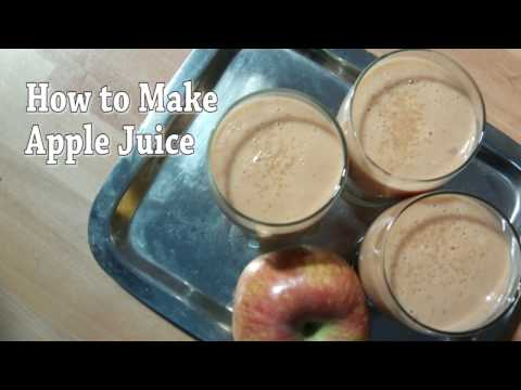 How to make perfect apple juice at home