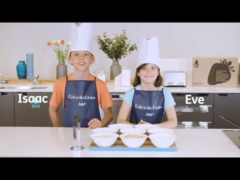 Salmon Patties with Isaac and Eve | Kids in the Kitchen by HBF