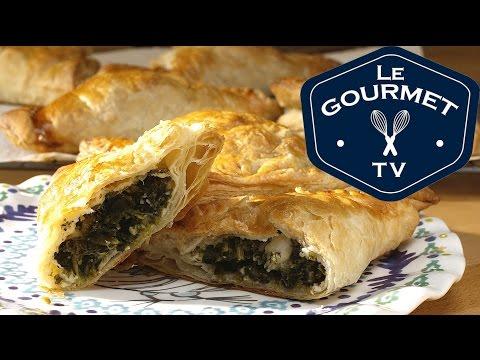 Spinach and Feta Bourekas - Recipe - LeGourmetTV