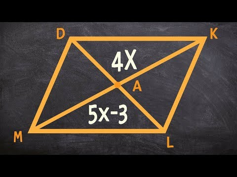 Applying the properties of a rhombus to determine the length of a diagonal