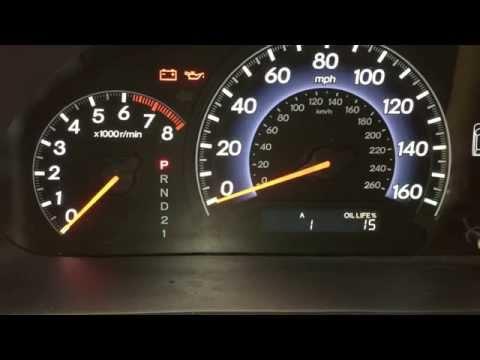 How To Reset Honda Oil Change Reminder - Maintenance Minder %
