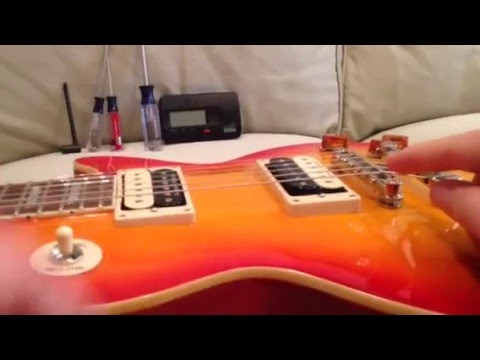 Les Paul: Quick Setup Specs