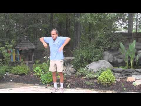 Shake the Tree, Qigong Exercise.