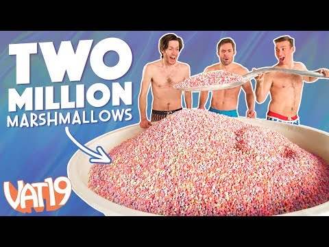 Gigantic Bowl of Just Cereal Marshmallows