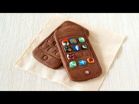 iPhone :-9 (Egg-Free Chocolate Cookies) iPhoneクッキーの作り方 - OCHIKERON - CREATE EAT HAPPY
