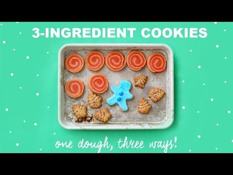 3-Ingredient Brown Sugar Cookies!