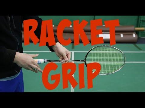How to hold badminton racquet EP1   Badminton Mastery