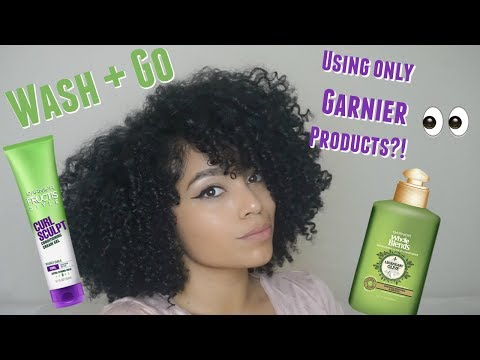 YES or NO? | Wash and Go Using Garnier Products on Natural Hair