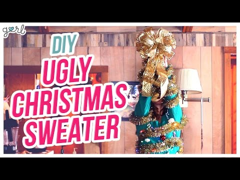 Do It, Gurl – DIY Ugly Christmas Sweater