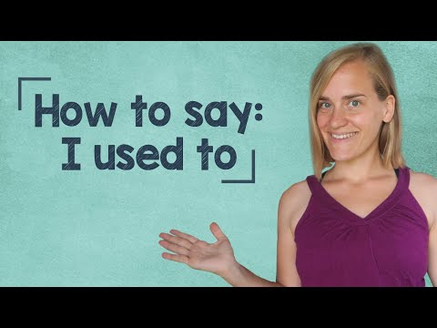German Lesson (151) - How to Say:
