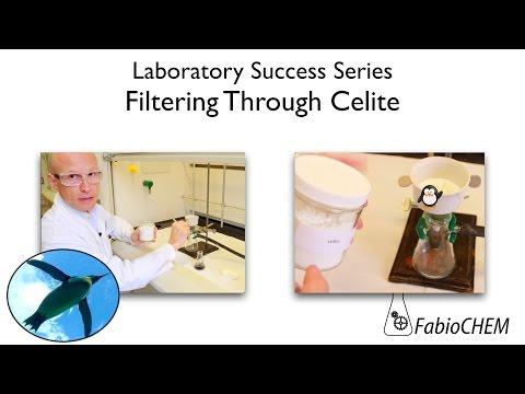 How to Filter through Celite