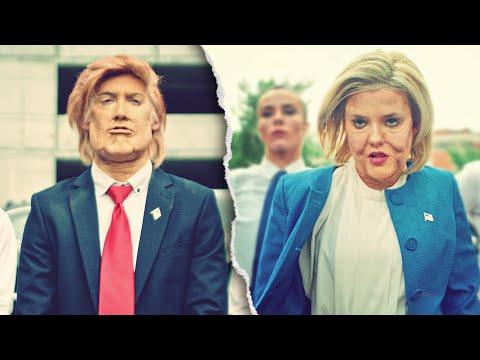 DONALD TRUMP VS HILLARY CLINTON DANCE BATTLE! // ScottDW - Born to Be