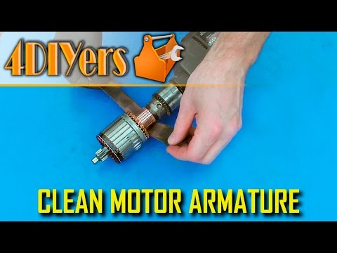 DIY: How to Clean the Commutator of an Armature