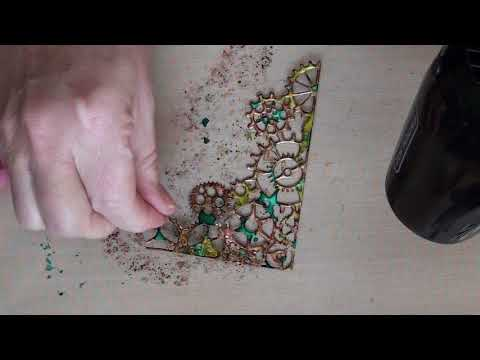 Making embellishments with Pop Cans (tutorial)