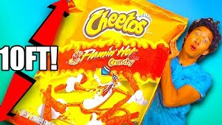 GIANT HOT CHEETOS SQUISHY!!!