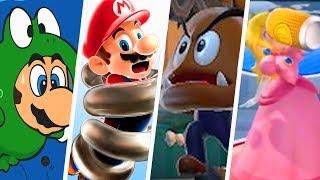 Evolution of Weird Power-Ups in Super Mario Games (1986 - 2018)