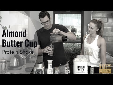 Almond Butter Cup Protein Shake