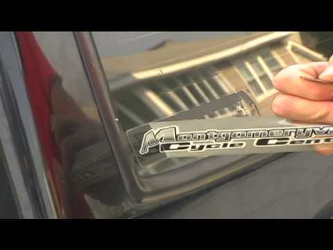 Car Maintenance : How Do I Remove a Decal From My Car Window?