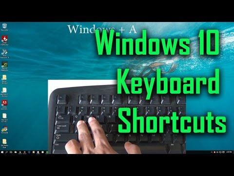 New Windows 10 Keyboard Shortcuts