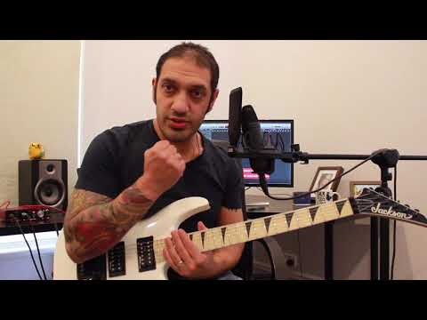 How to play 'Sunny Disposition' by Avenged Sevenfold Guitar Solo Lesson w/tabs