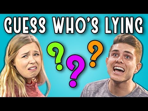 CAN YOU GUESS WHO'S LYING? | Poker Face #2 (REACT)
