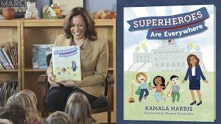 Senator Kamala Harris Shares Superheroes Are Everywhere