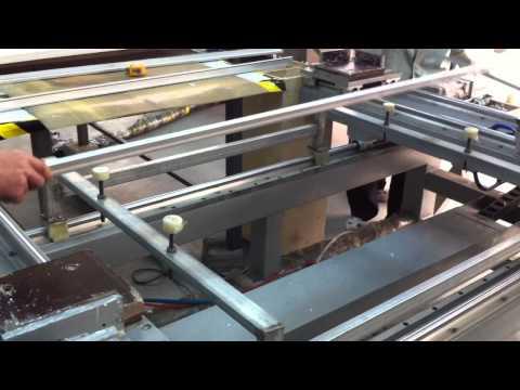 Solar panel production machines