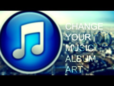How to change the album art for your Music