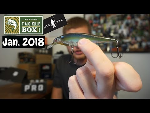 Mystery Tackle Box PRO ~ January 2018 Unboxing
