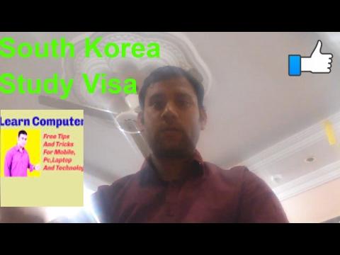 South Korea Study Visa Requirements