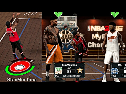 NBA 2K17 MyPark - FIRST PARK TEST ON PATCH 9! DID THEY PATCH MY HALF COURT GREENS?!?